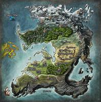 Princess Map by Djekspek