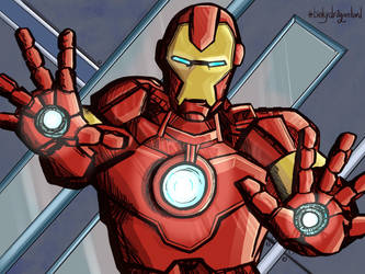 Iron Man by Dragonlord42