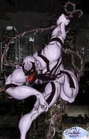 Anti-Venom 1 Copic Colored by OrionSTARB0Y