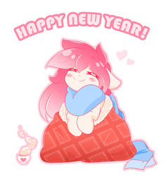 Happy New Year OwO by HungrySohma16