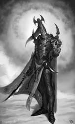 Dark Eldar archon by RadialArt