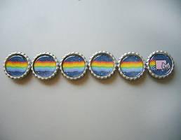 Nyan Cat Magnet Set by Monostache