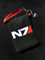 Mass Effect N7 Renegade Paragon Phone Case by Monostache