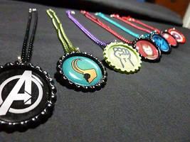 Avengers Deluxe Necklaces by Monostache
