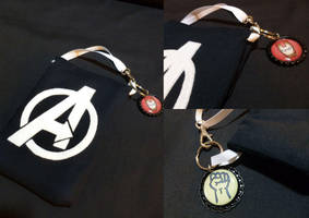 Avengers Phone Case by Monostache