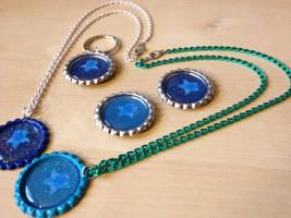 Custom My Little Pony OC Jewelry by Monostache