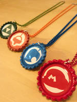 Nintendo Inspired Necklaces by Monostache