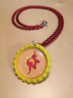 Sunset Shimmer MLP Necklace - Handmade by Monostache