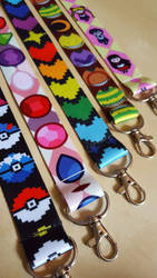 Lanyard Assortment by Monostache