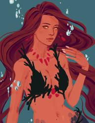 mermaid dahlia by Jaba-Nonsense