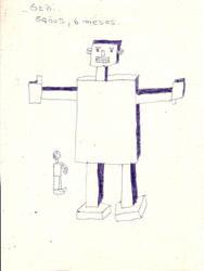 Nostalgias roboticas... by TheSecretWindow