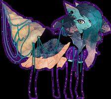 MLP Crystal limbhead pony auction 40 CLOSED by ElkaArt