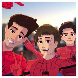 Spider Selfie by Markistic