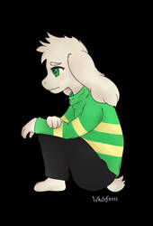Asriel by WhiteFoxzz