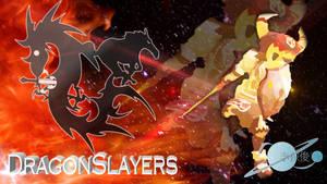 Logo DragonSlayers wallpaper by Kurohiku-Chi
