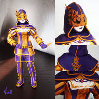 Hellequin figurine by Valkyrie-21