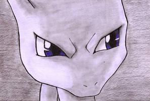 Mewtwo by DemonMew