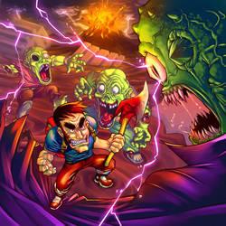 Level 99 - Cover art by FelipeChoque