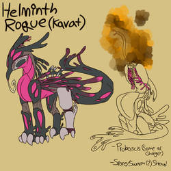 Helminth Rogue {Warframe concept} by Ashlynnii