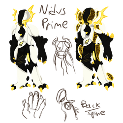 Nidus Prime {Fan concept} by Ashlynnii