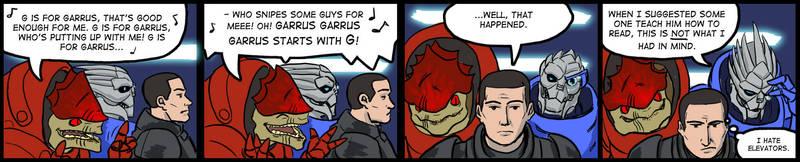 Mass Effect lift conversation by Eullogy-Enterprises