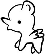 f2u weird pony icon base by pillowghosts