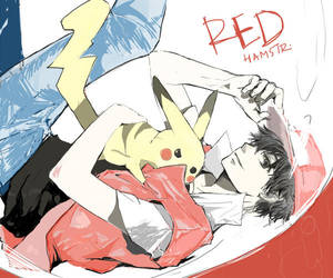 Request: Red-Pokemon by festivewind