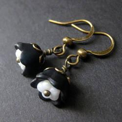 French Maid Earrings by Gilliauna