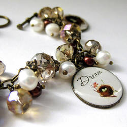 Dream With Me Birds Nest Bracelet by Gilliauna