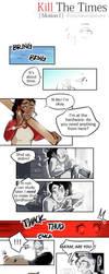 KillTheTimes [Original Comic] - Motion I Page 1 by MariaMediaHere