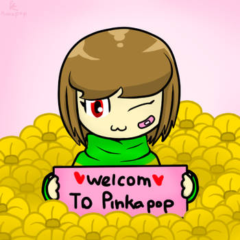 Welcome to my Deviantart by Pinkapop