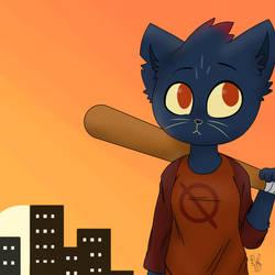 [NITW] I am a total trash mammal. by Pinkapop