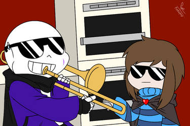 When Chara Isn't Home by Pinkapop