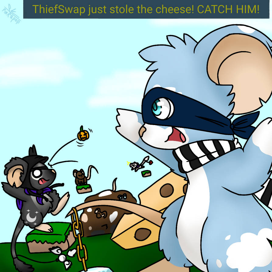 TFMtale - Thiefswap just stole the cheese! by Pinkapop