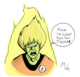 Hulk Color by Shuya
