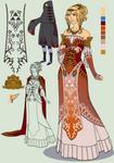 ZeldaAUD: Princess Zelda by Split-Heart