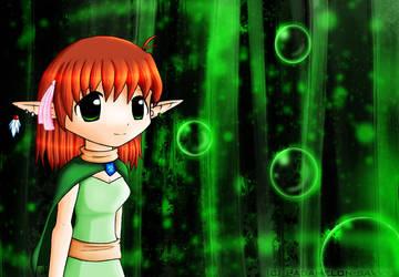 Elf Girl. by Padamelon-Savvy