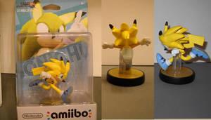 Custom Sonichu amiibo by Derrico13