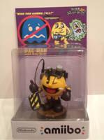 Custom Ghostbusters Pac-man amiibo by Derrico13