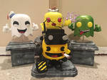 Custom Ghostbusters Pac-Man Funko Pop! by Derrico13