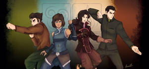 Team Avatar LoK by Blackangel94a