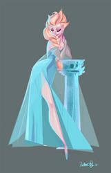 Queen Elsa by victoria-ying