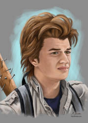 Steve Harrington - Stranger Things by martianpictures