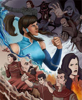 Legend of Korra Fan Art by quickmind