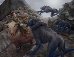 Werewolf Attack by quickmind