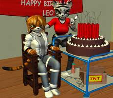 Leo's Birthday Blast... by wynter333A