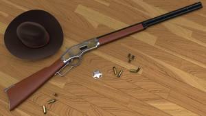 Winchester 1873 by sameh-koko2