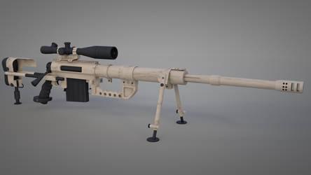 m200 Sniper rifle by sameh-koko2