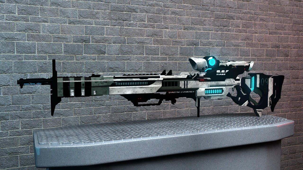 th 50 spectre sniper rifle by sameh-koko2