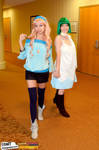AnimeWorld Indy: Sheryl and Ranka by MomoKurumi
